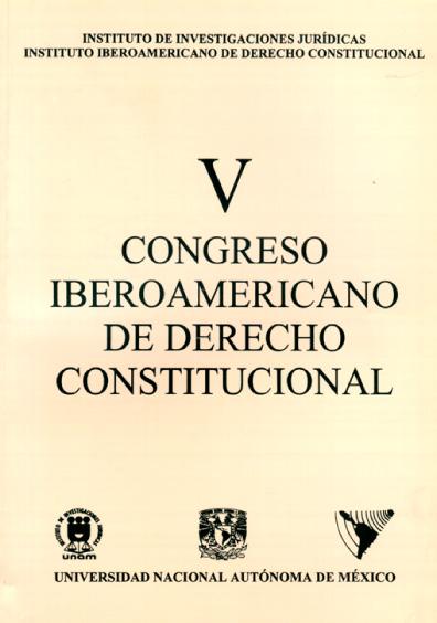 V Congreso Iberoamericano de derecho constitucional