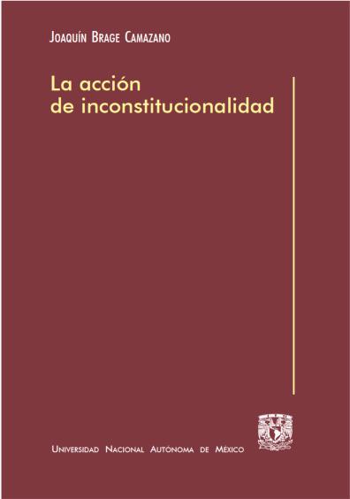 La acción de inconstitucionalidad
