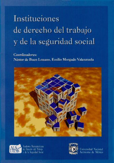 Instituciones de derecho del trabajo y de la seguridad social
