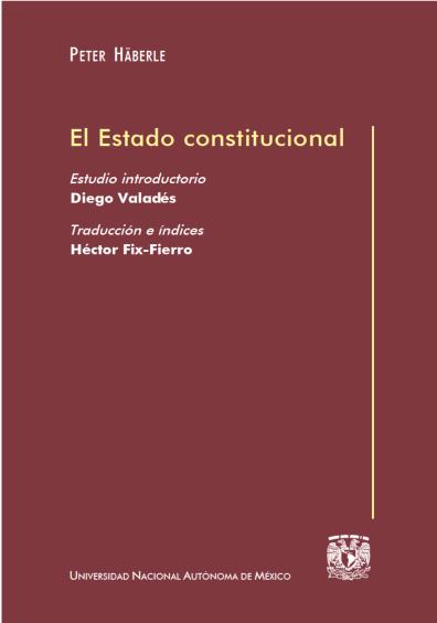 El Estado constitucional, 1a. reimp.