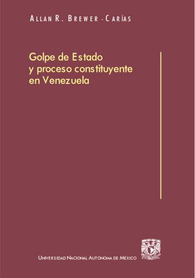 Golpe de Estado y proceso constituyente en Venezuela