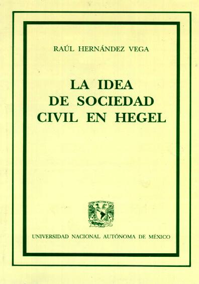 La idea de sociedad civil en Hegel