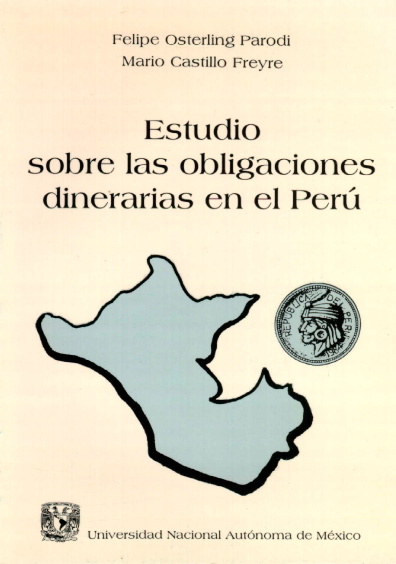 Estudios sobre las obligaciones dinerarias en el Perú