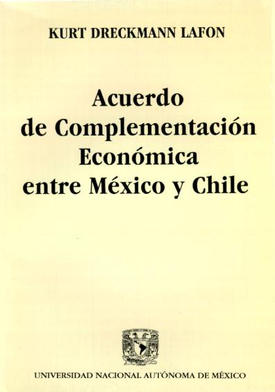 Acuerdo de Complementación Económica entre México y Chile