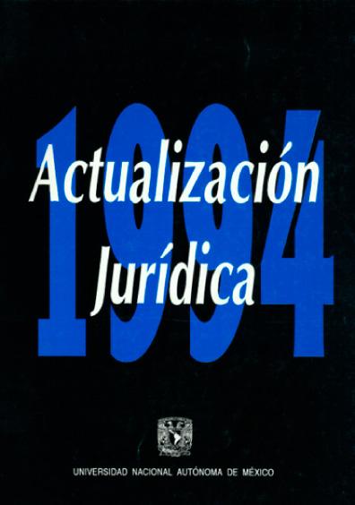 Actualización jurídica 1994