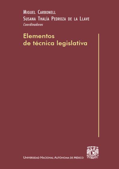 Elementos de técnica legislativa