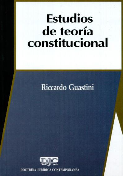 Estudios de teoría constitucional