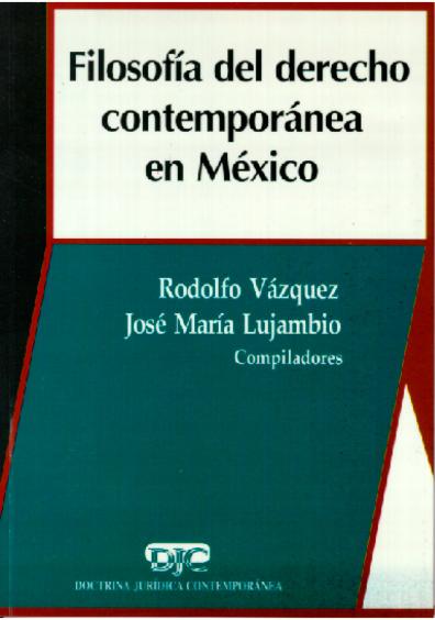 Filosofía del derecho contemporánea en México