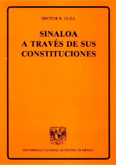 Sinaloa a través de sus Constituciones