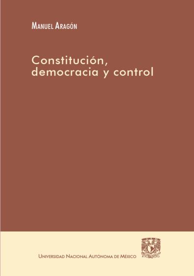 Constitución, democracia y control