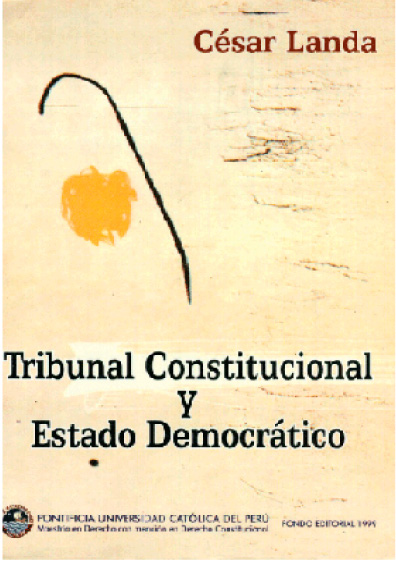 Tribunal constitucional y Estado democrático