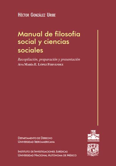 Manual de filosofía social y ciencias sociales