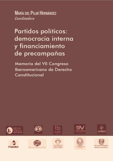 Partidos políticos: democracia interna y financiamiento de precampañas