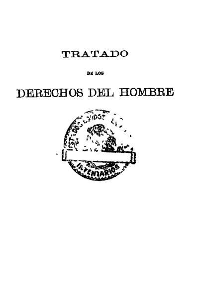 Estudio del derecho constitucional patrio en lo relativo a los derechos del hombre