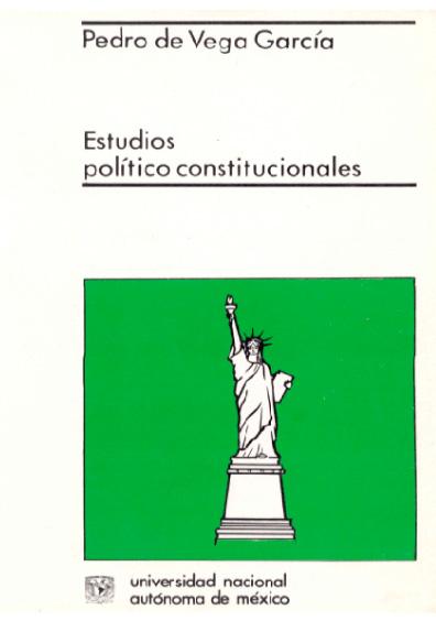 Estudios político-constitucionales