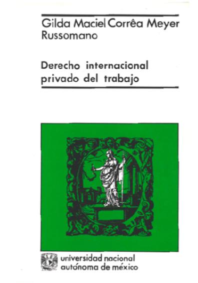 Derecho internacional privado del trabajo