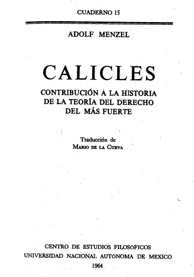 Calicles