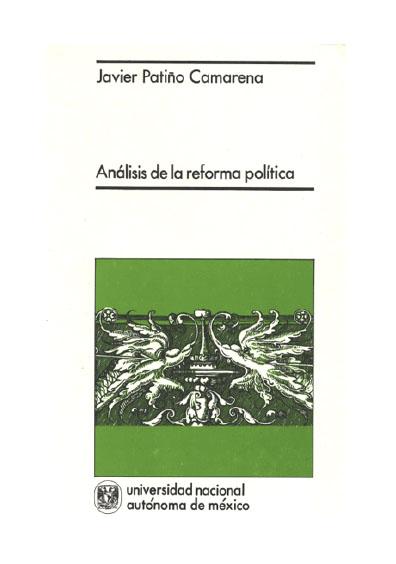 Análisis de la reforma política