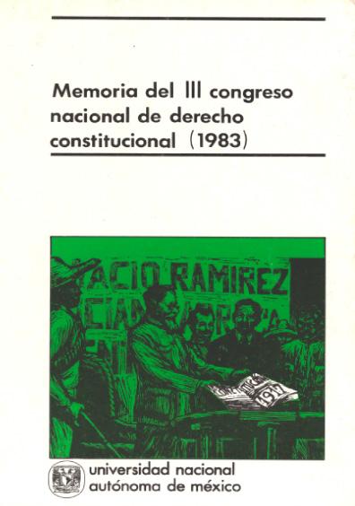 Memoria del III Congreso Nacional de Derecho Constitucional