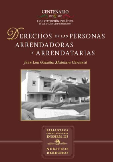 Derechos de las personas arrendadoras y arrendatarias. Colección Nuestros Derechos