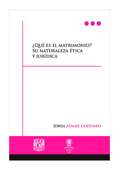 Matrimonio Derecho Romano Unam : Adame goddard jorge