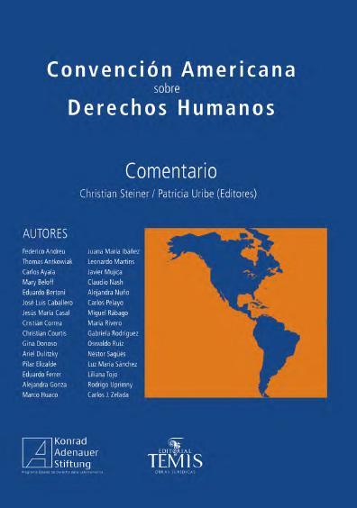Convención Americana sobre Derechos Humanos. Colección Konrad Adenauer