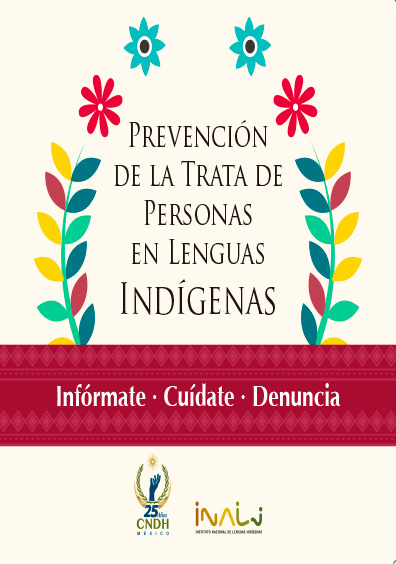 Prevención de la trata de personas en lenguas indígenas. Colección CNDH