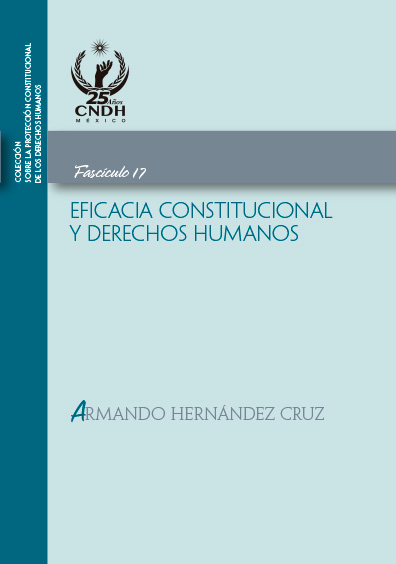 Eficacia constitucional y derechos humanos. Fascículo 17. Colección CNDH