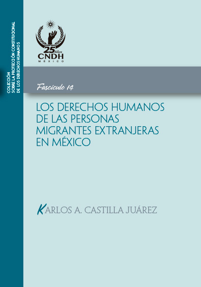 Los derechos humanos de las personas migrantes extranjeras en México. Fasciculo 13