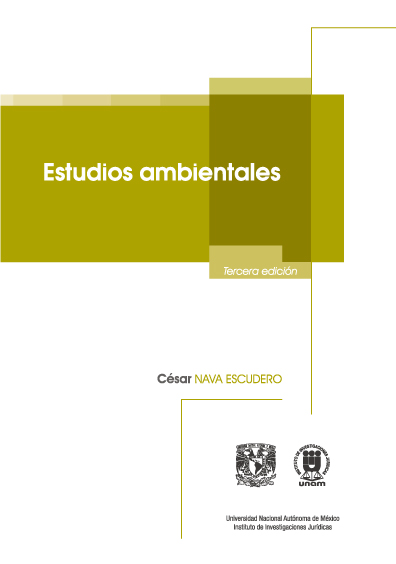 Estudios ambientales, 3a. ed.