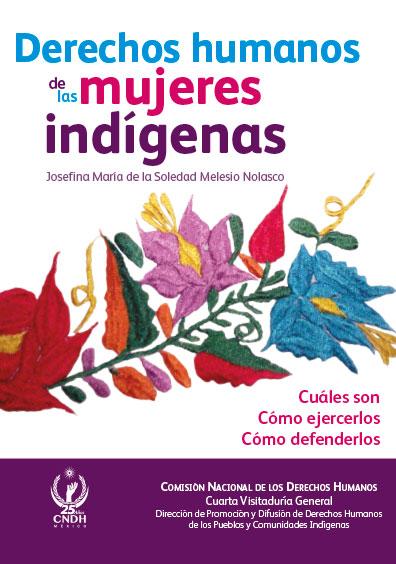 Derechos humanos de las mujeres indígenas. Colección CNDH