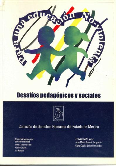 Para una educación no-violenta. Desafíos pedagógicos y sociales. Colección CEJIL