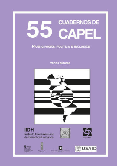 Participación política e inclusión. Cuadernos de CAPEL 55. Colección CAPEL