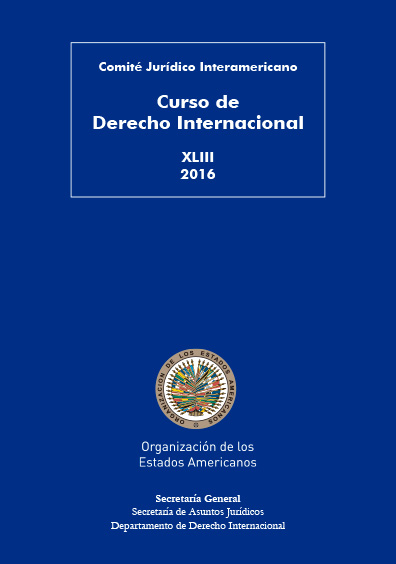 Curso de Derecho Internacional. XLIII 2016