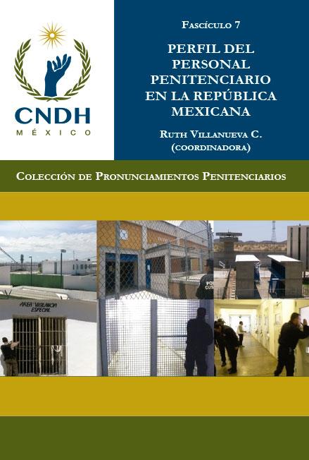Perfil del personal penitenciario en la República Mexicana. Colección CNDH