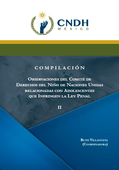 Observaciones del Comité de Derechos del Niño de Naciones Unidas relacionadas con Adolescentes que Infringen la Ley Penal