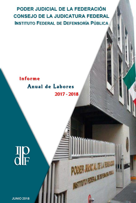 Informe Anual de Labores 2017-2018. IFDP