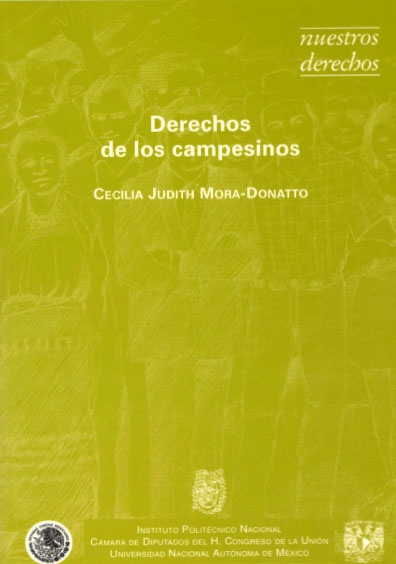 Derechos de los campesinos. Colección Nuestros Derechos, edición UNAM-IPN