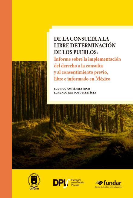 De la consulta a la libre determinación de los pueblos: informe sobre la implementación del derecho a la consulta y al consentimiento previo, libre e informado en México