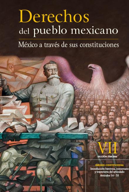 Derechos del Pueblo Mexicano. México a través de sus Constituciones, vol. VII