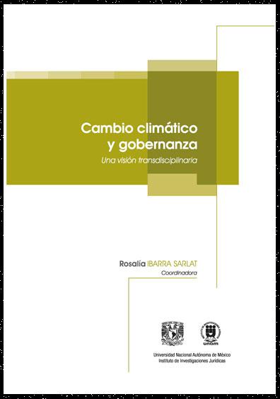Cambio climático y gobernanza. Una visión transdisciplinaria