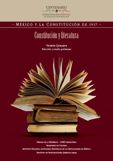 Constitución y literatura. Colección UNAM-INEHRM