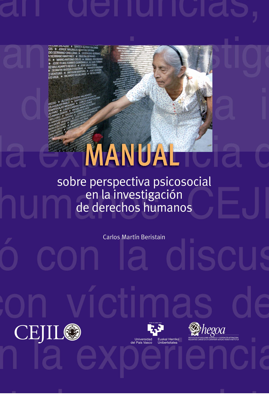 Manual sobre perspectiva en la investigación de derechos humanos. Colección CEJIL