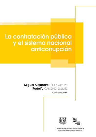 La contratación pública y el sistema nacional anticorrupción
