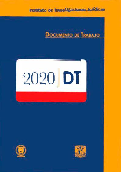Documentos de trabajo del Instituto de Investigaciones Jurídicas de la UNAM. 2020
