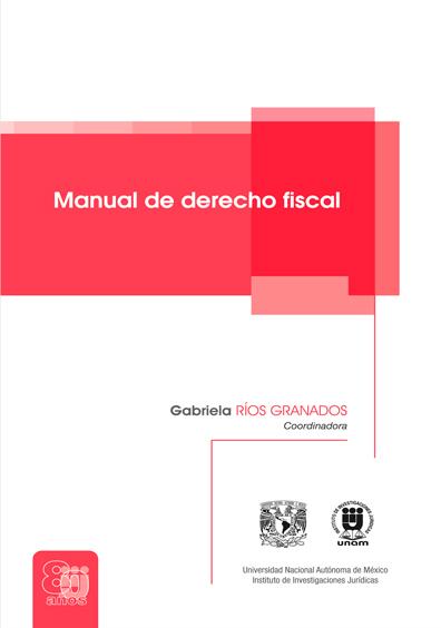 Manual de derecho fiscal