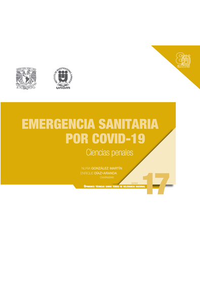 Emergencia sanitaria por Covid-19: ciencias penales. Serie Opiniones Técnicas sobre Temas de Relevancia Nacional, núm. 17