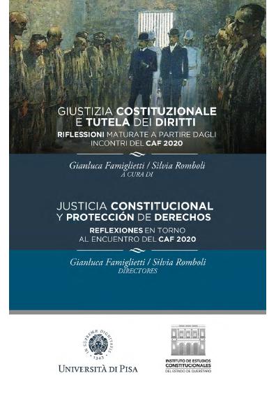Justicia constitucional y protección de derechos. Reflexiones en torno al encuentro del CAF 2020. Colección IECEQ