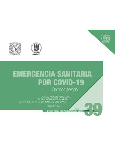 Emergencia sanitaria por Covid-19: derecho privado. Serie Opiniones Técnicas sobre Temas de Relevancia Nacional, núm. 39