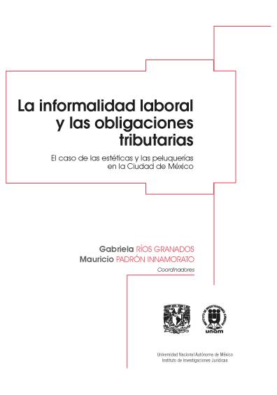 La informalidad laboral y las obligaciones tributarias: el caso de las estéticas y las peluquerías en la Ciudad de México